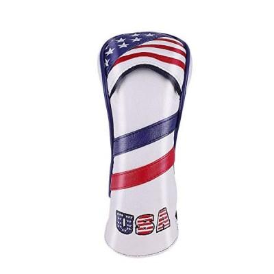 ユーティリティ UT用 ヘッドカバー 米国旗柄 USA Flag  カスタムデザイン  変換ダグ付き