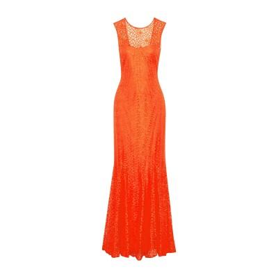 MIKAEL AGHAL ロングワンピース&ドレス コーラル 8 ポリエステル 100% ロングワンピース&ドレス