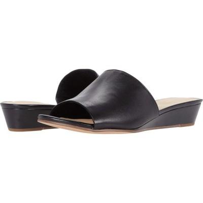 クラークス Clarks レディース サンダル・ミュール シューズ・靴 Sense Slide Black Leather