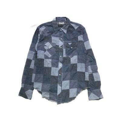 Engineered Garments/Western Shirt Chambray Patchwork/M[▼]