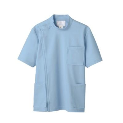 MONTBLANC 72-704 ケーシー(半袖)(男性用) ナースウェア・白衣・介護ウェア