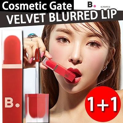 [banila co] 1+1 バニラコ 空気のような軽やかさ エアーグラム ベルベット ティント!velvet blurred lip/韓国コスメ