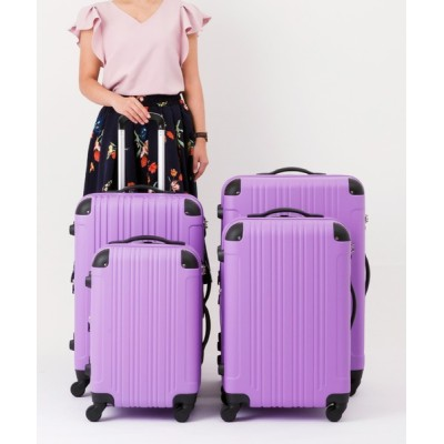 LEGEND WALKER / マルチサイズ/拡張機能/コーナーパッド付き ファスナーキャリーケース WOMEN バッグ > スーツケース/キャリーバッグ