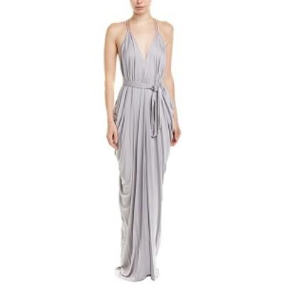 イシュー レディース ワンピース トップス issue New York Gown silver