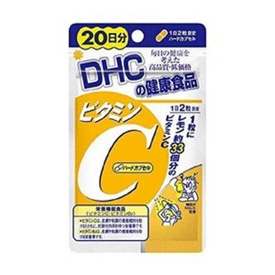 【DHC】 ビタミンC ハードカプセル 20日 40粒 (栄養機能食品) 【健康食品】