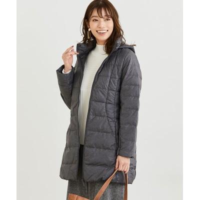 着心地軽やか 大人のロングダウンコート(防風・撥水) (コート)(レディース)Coat
