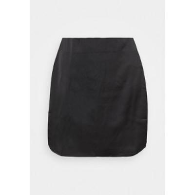 ミスガイデッド レディース スカート ボトムス SLIP SKIRT - Mini skirt - black black