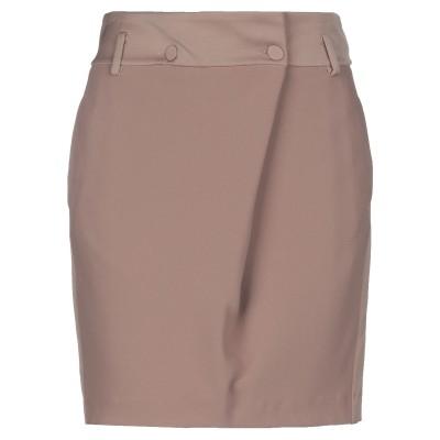 ツインセット シモーナ バルビエリ TWINSET ひざ丈スカート キャメル XS ポリエステル 100% ひざ丈スカート