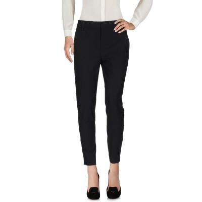 DKNY パンツ ブラック 6 ウール 95% / ポリウレタン 5% パンツ
