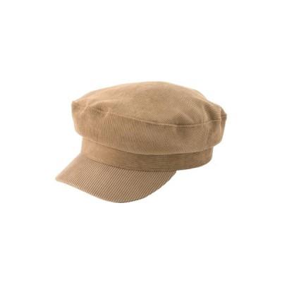 GYDA / コーデュロイマリンCAP WOMEN 帽子 > キャップ