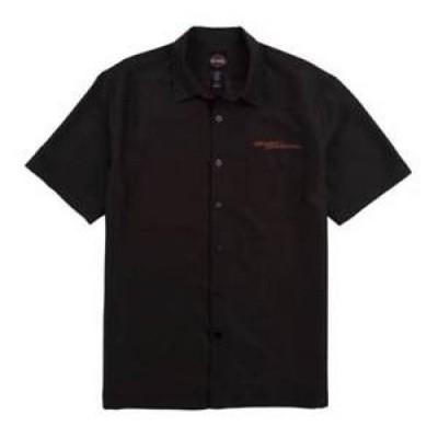 【お取り寄せ】ハーレーダビットソン メンズ Harley-Davidso<wbr/>n Tori Richard Men's In The Dust Button Shirt, 2 Colors 0587-7180