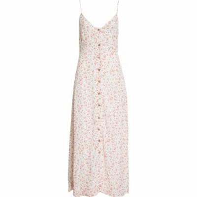 ガニー GANNI レディース ワンピース タンクワンピース ワンピース・ドレス Floral Georgette Tank Dress Egret