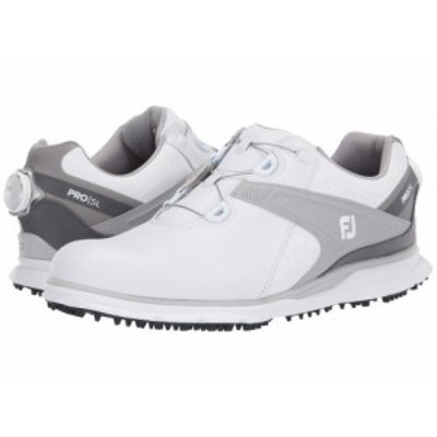 FootJoy フットジョイ メンズ 男性用 シューズ 靴 スニーカー 運動靴 Pro SL White/Grey 1【送料無料】
