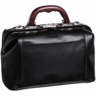 【人気商品】【日本製】ダレスバッグSサイズ31cm【ビジネス】 -- ブラック(木手ハンドル・日本製)