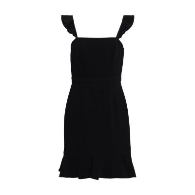 レイチェル・ゾー RACHEL ZOE ミニワンピース&ドレス ブラック 8 ポリエステル 51% / アセテート 49% ミニワンピース&ドレス
