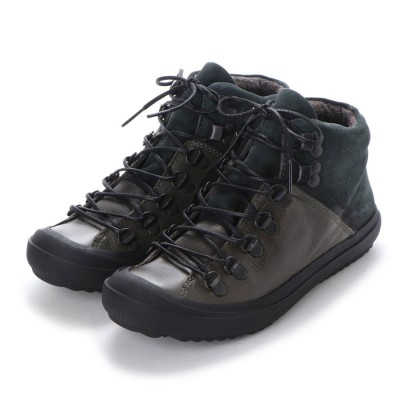 ヨーロッパコンフォートシューズ EU Comfort Shoes FLYLONDON ハイカットスニーカー(601.222) (ブラック)