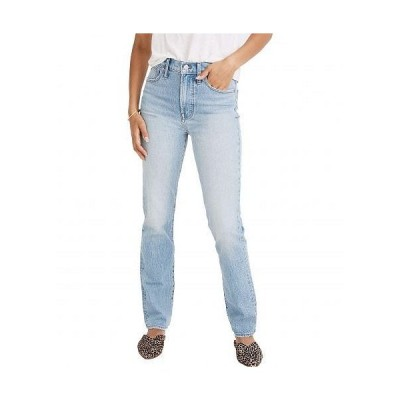 Madewell レディース 女性用 ファッション ジーンズ デニム The Perfect Vintage Full-Length Jean in Colebrooke Wash - Colebrooke Wash