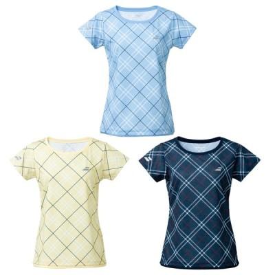 バボラ Babolat テニスウェア レディース PURE SHORT SLEEVE SHIRT ショートスリーブシャツ BWG1327 2021SS  『即日出荷』