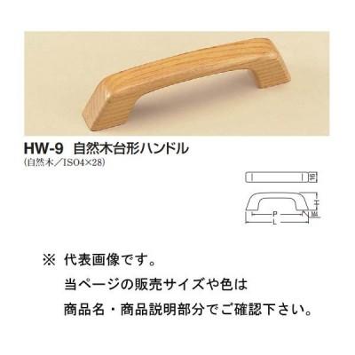 シロクマ 自然木台形ハンドル HW-9 ナチュラルオーク 豆