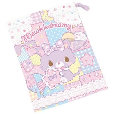 コップ袋 ミュークルドリーミー 歯ブラシホルダー付き 子供 キャラクター ( 給食袋 幼稚園 保育園 巾着 )