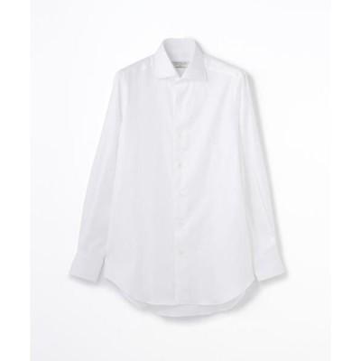 TOMORROWLAND / トゥモローランド 140/2コットンツイル ワイドカラー ドレスシャツ NEW WIDE-5
