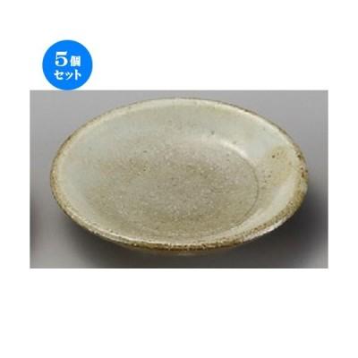 5個セット ☆ 小皿 ☆ 手造風粉引吹3.0皿 [ 100 x 20mm ] 【料亭 旅館 和食器 飲食店 業務用 】
