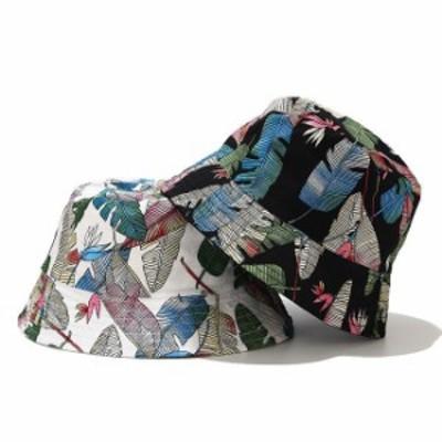 つば広ハット レディースハットuvカット 帽子 漁夫帽 女優帽 日焼け帽子 葉柄 紫外線対策 アウトドア 大きめ かわいい 春夏