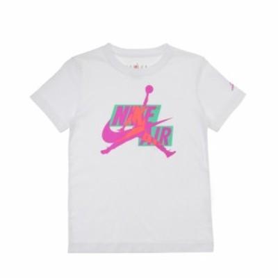 ジョーダン(JORDAN)キッズ JUMPMAN CLASSICS HBR クルーネック半袖 Tシャツ 85A077-H35(…