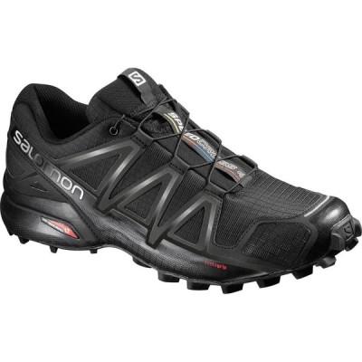 サロモン SALOMON メンズ ランニング・ウォーキング シューズ・靴 Speedcross 4 Trail Running Shoes, Black BLACK