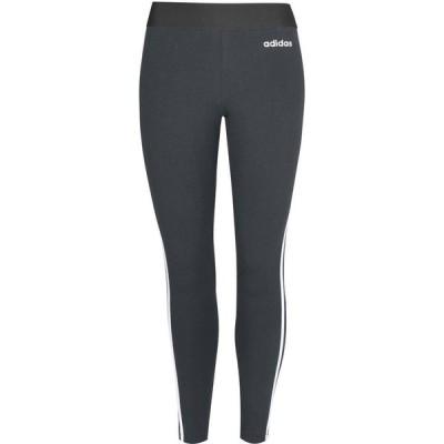 アディダス adidas レディース フィットネス・トレーニング スパッツ・レギンス ボトムス・パンツ Essentials 3-Stripes Leggings Green Oxide