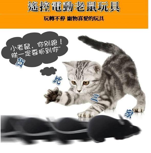 遙控仿真老鼠 毛絨 逗猫 寵物 旋轉電動 貓咪 玩樂 逗趣 無聊 排遣寂寞 狗貓玩具 追老鼠 無線