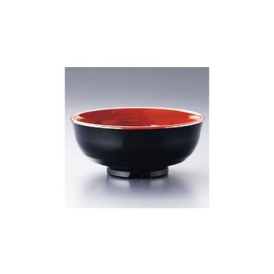 メラミン どんぶり碗 790-BC 黒内ウルミ RDVC806