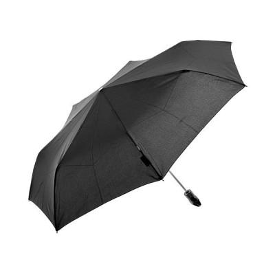 【バックヤードファミリー】 クニルプス Floyd Duomatic リングハンドル自動開閉折りたたみ傘 レディース ブラック FloydDuomatic BACKYARD FAMILY