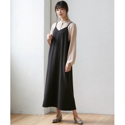 大きいサイズ キャミソールワンピース ,スマイルランド, ワンピース, plus size dress