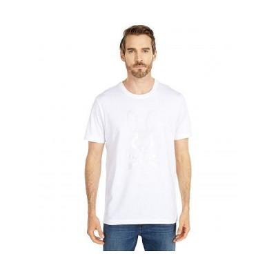 Psycho Bunny サイコバニー メンズ 男性用 ファッション Tシャツ Penley T-Shirt - White