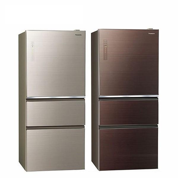 (限定地區配送)Panasonic 國際610L玻璃面板1級變頻三門冰箱 NR-C610NHGS  免費基安+舊機回收