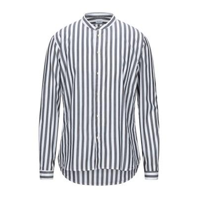 OFFICINA 36 シャツ ブラック L コットン 100% シャツ