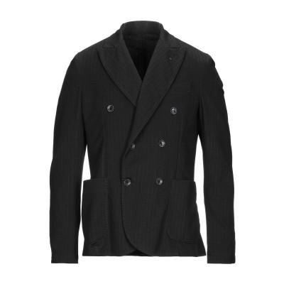 EN AVANCE テーラードジャケット ブラック 50 レーヨン 46% / ナイロン 46% / ポリウレタン 8% テーラードジャケット