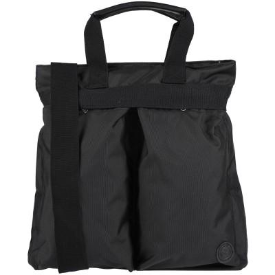 ティンバーランド TIMBERLAND ハンドバッグ ブラック ポリエステル 100% / 牛革 ハンドバッグ