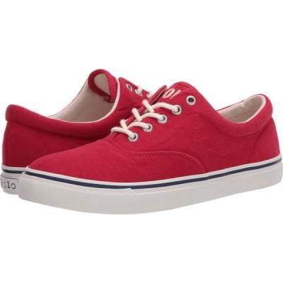 ラルフ ローレン Polo Ralph Lauren メンズ スニーカー シューズ・靴 Harpoon Red Washed Canvas