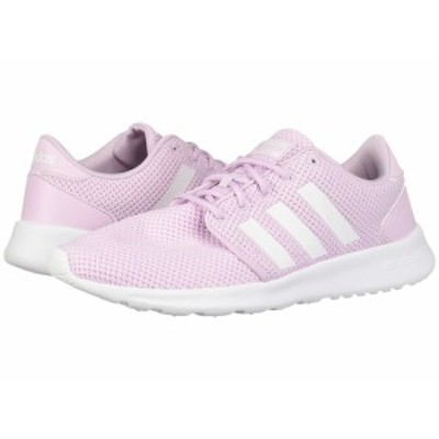 アディダス レディース スニーカー シューズ Cloudfoam QT Racer Aero Pink S18/Footwear White/Aero Pink S18