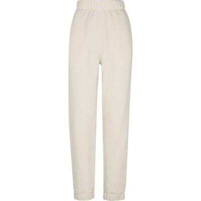 ガニー Ganni レディース スウェット・ジャージ ボトムス・パンツ software logo cotton-blend sweatpants Natural