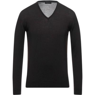ロベルトコリーナ ROBERTO COLLINA メンズ ニット・セーター トップス Sweater Dark brown