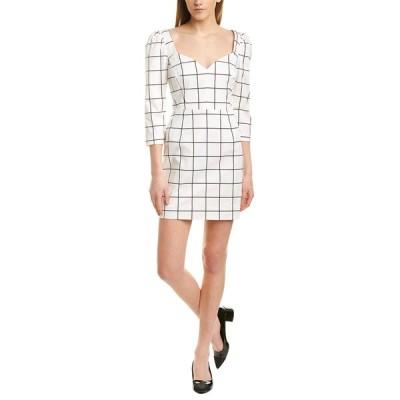 ミリー ワンピース トップス レディース Milly Camila Midi Dress white & black