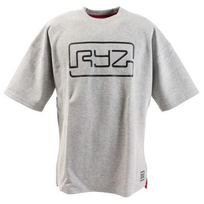 RYZシーズンボンデッド スウェット 半袖Tシャツ 869R0CD3195 GREY グレー