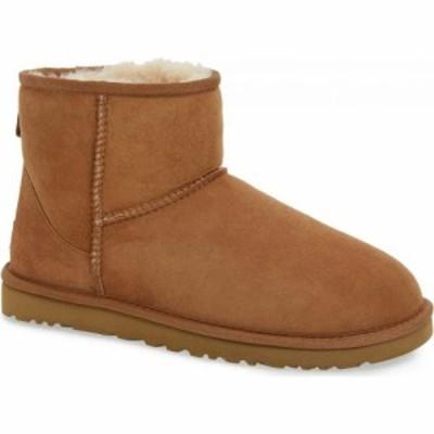 アグ UGG メンズ ブーツ シューズ・靴 Classic Mini Boot Chestnut