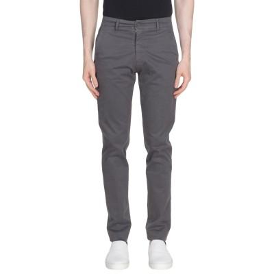 LIU •JO MAN パンツ 鉛色 44 98% コットン 2% ポリウレタン パンツ