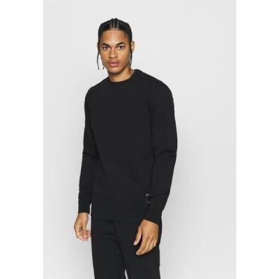ビヨンボルグ メンズ スポーツ用品 CENTRE CREW - Sweatshirt - black beauty