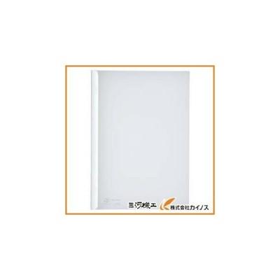 リヒト A4/S厚綴じスライドバーファイル(10冊入) 白 G1730-0 G17300