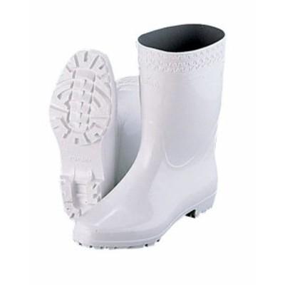 弘進 ゾナGL白長靴(耐油性) 28cm    [7-1365-0510 6-1305-0510  ]